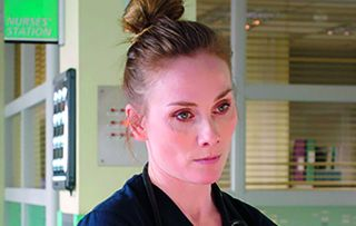 Jac Naylor traumatised Holby City
