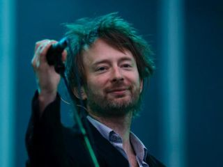Yorke would look even happier if his new group had a name