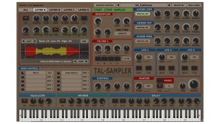 TAL-Sampler is designed to let you create your own presets quickly.