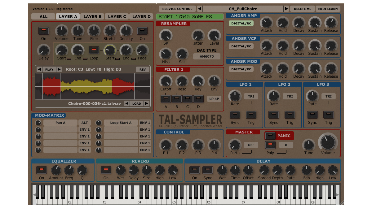 TAL-Sampler plugin goes back to the old school | MusicRadar