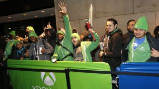 xbox one times square