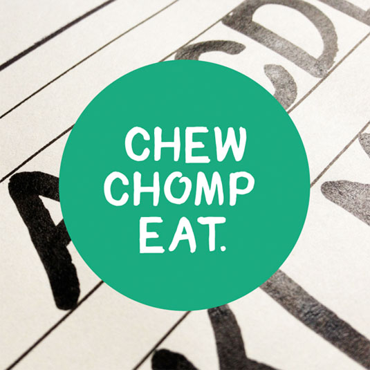 Free handwriting fonts: Chomp