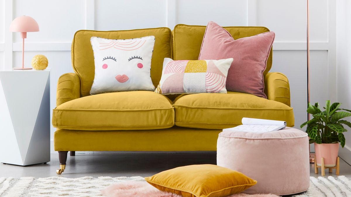 Pink and yellow are the perfect colours for spring!