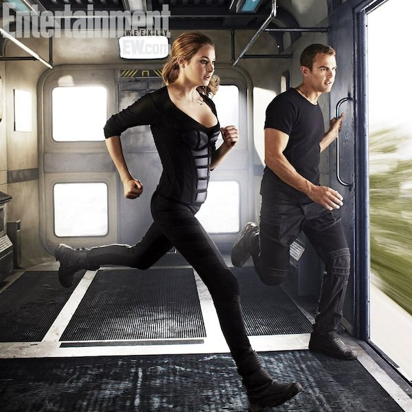 Divergent Tris and Four