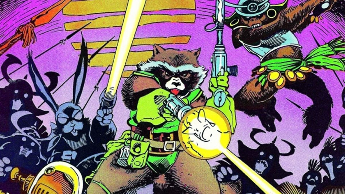 Guardians Of The Galaxy: a history of the comics