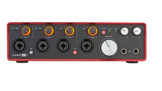 focusrite scarlett 18i8 2nd gen review musicradar. Black Bedroom Furniture Sets. Home Design Ideas
