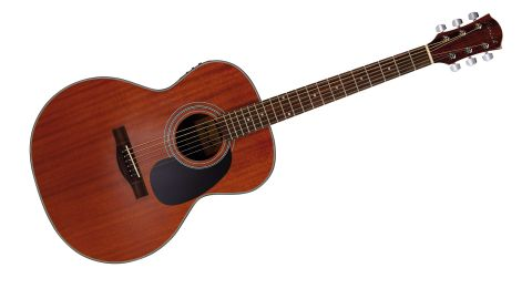 The Richtone body shape has more rounded shoulders and a narrower waist than a dreadnought