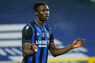 December 5, 2020, Brugge, BELGIUM: Club's Odilon Kossounou pictured during a soccer match between Club Brugge KV and Sint-Truiden VV, Saturday 05 December 2020 in Brugge, on the fifteenth day of the 'Jupiler Pro League' first division of the Belgian championship. BELGA PHOTO BRUNO FAHY (Credit Image: � Bruno Fahy/Belga via ZUMA Press)
