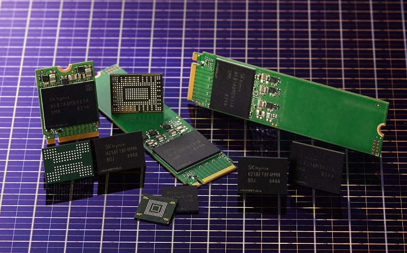 SK Hynix is touting '4D' NAND flash memory that isn't really