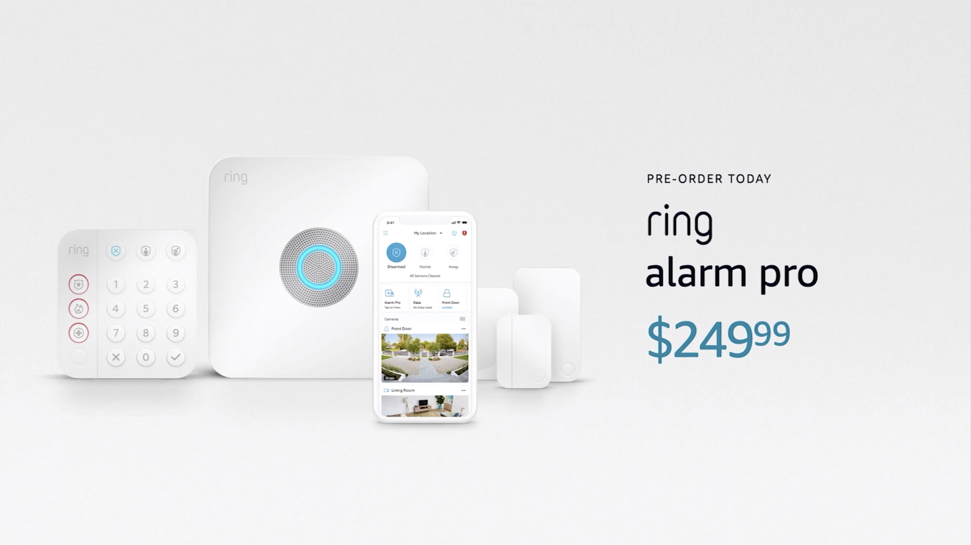 Ring Alarm Pro at the Amazon event