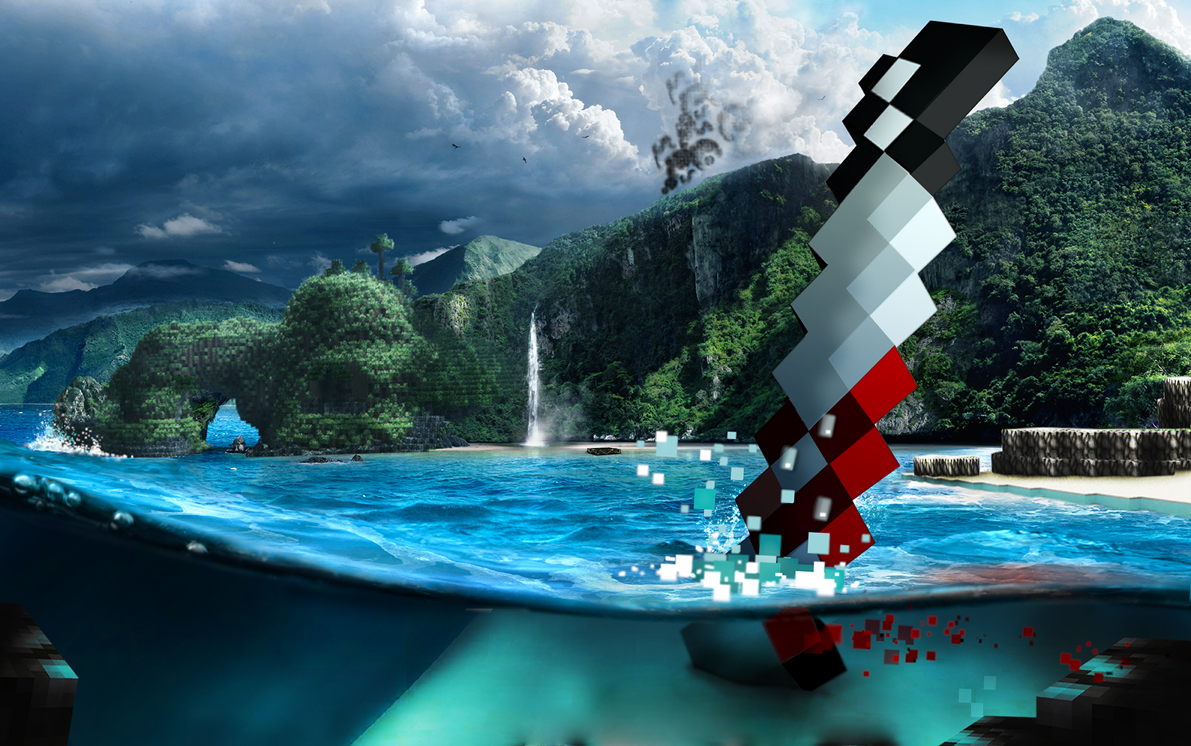 Far Cry 3 Mod Makes Minecraft Even More Awesome Pc Gamer
