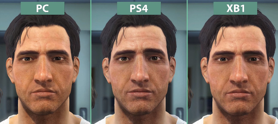 Fallout 4 Graphics Comparison Puts PC PS4 And Xbox One Side By