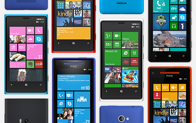 Rising Windows Phone market share pushes Android and iOS ...