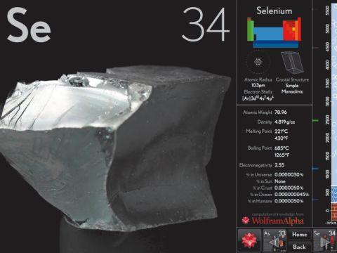 The Elements: UK and Ireland iPad app