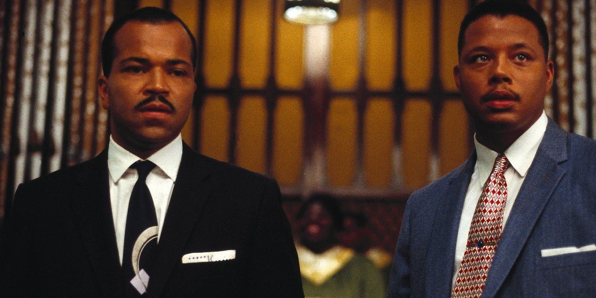 Jeffrey Wright on the left, Terrence Howard on the right