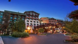 Disney's Grand Californian Resort and Spa front exterior