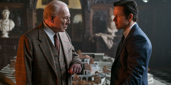 Mark Wahlberg and Christopher Plummer In All The Money In The World