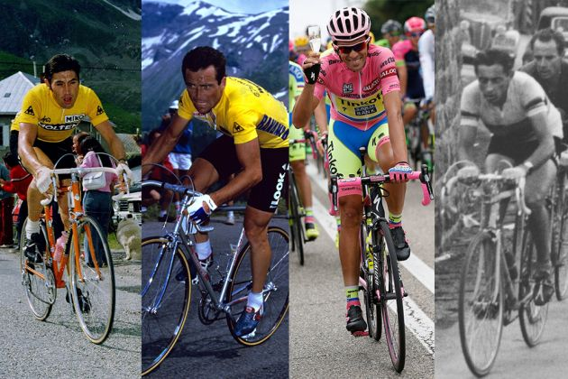 Grand Tour overall wins are the ultimate test of pro cyclists – but who is  the best of all time  Is it Merckx with 11 wins  Coppi or Contador with  seven ... c8e43febe