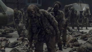 Season 11, episode 1 of AMC's 'The Walking Dead'