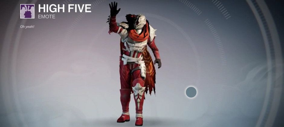 Destiny Dance Gif: Destiny Refer-a-friend Quest Hands Out High Five And Duo