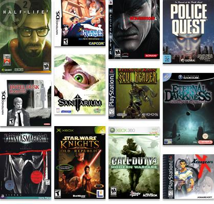 Mature rated games