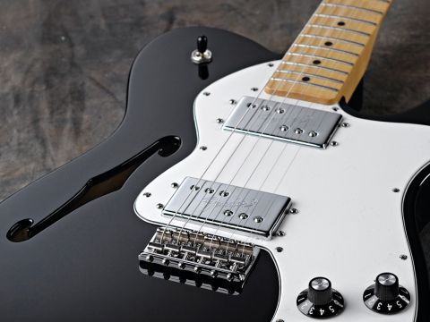 Fender Classic Player Telecaster Thinline Deluxe Review Musicradar