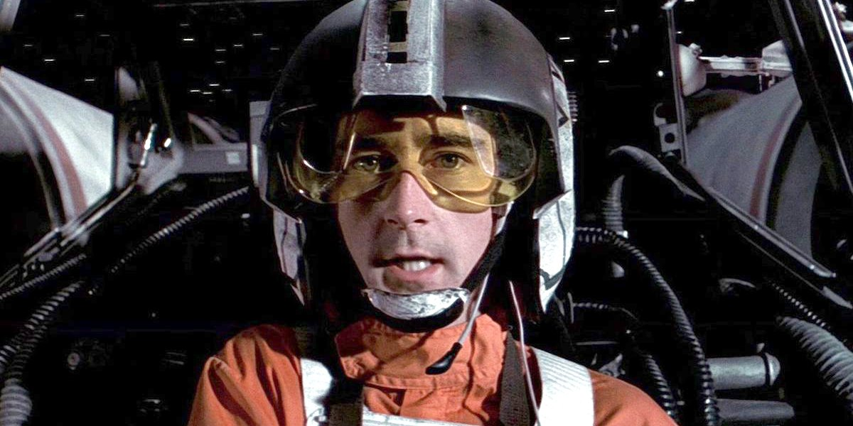Denis Lawson as Wedge Antilles Star Wars Lucasfilm
