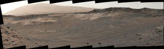 Rough Terrain Ahead of Curiosity Rover