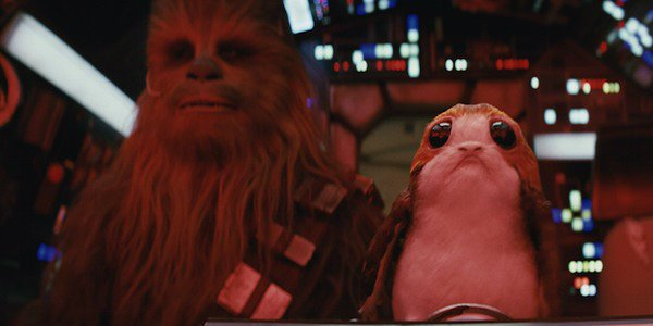Star Wars Porgs Chewbacca