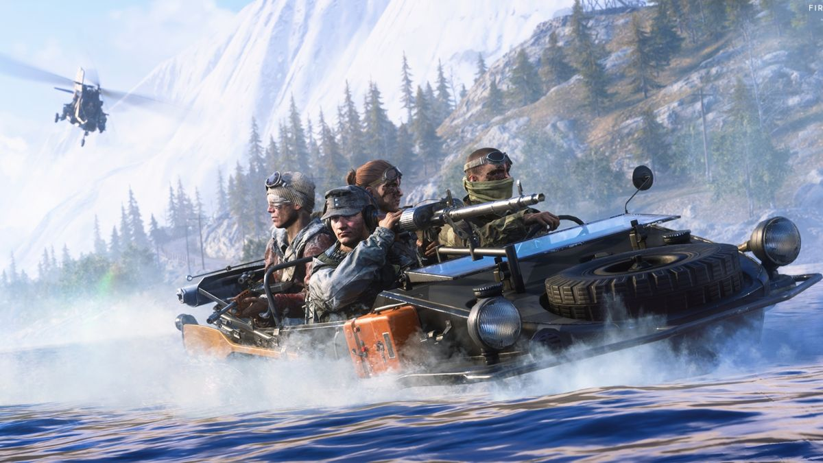 Battlefield 5 Firestorm's blazing inferno brings some urgency to battle royale