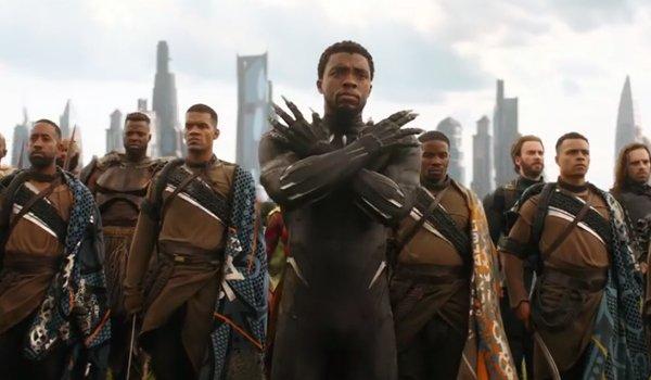 Chadwick Boseman Black Panther Avengers Infinity War