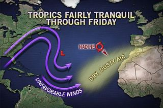 hurricanes, tropical storms, Nadine