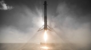 Falcon 9 first stage landing
