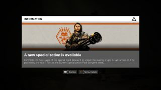 how to get specialization points division 2