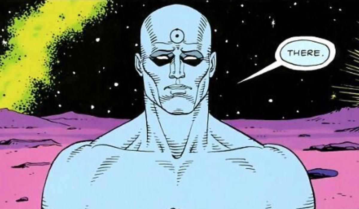 doctor manhattan on mars watchmen comic
