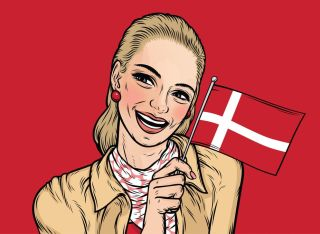 Denmark's happiness