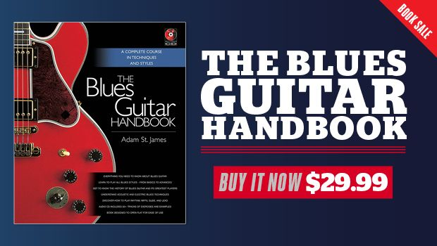 Backbeat's 'Blues Guitar Handbook' Teaches Blues History and Multiple Techniques