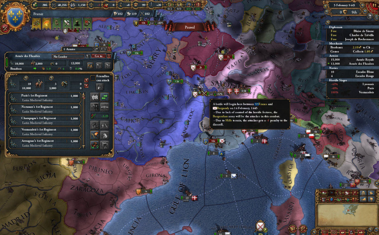 Crusader Kings 2 and Europa Universalis 4 expansions will arrive