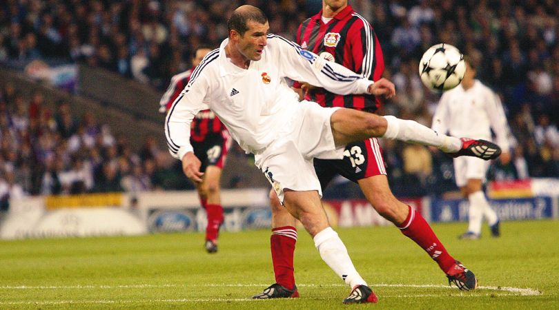 Quiz! Can you name every single club Zinedine Zidane scored against? |  FourFourTwo