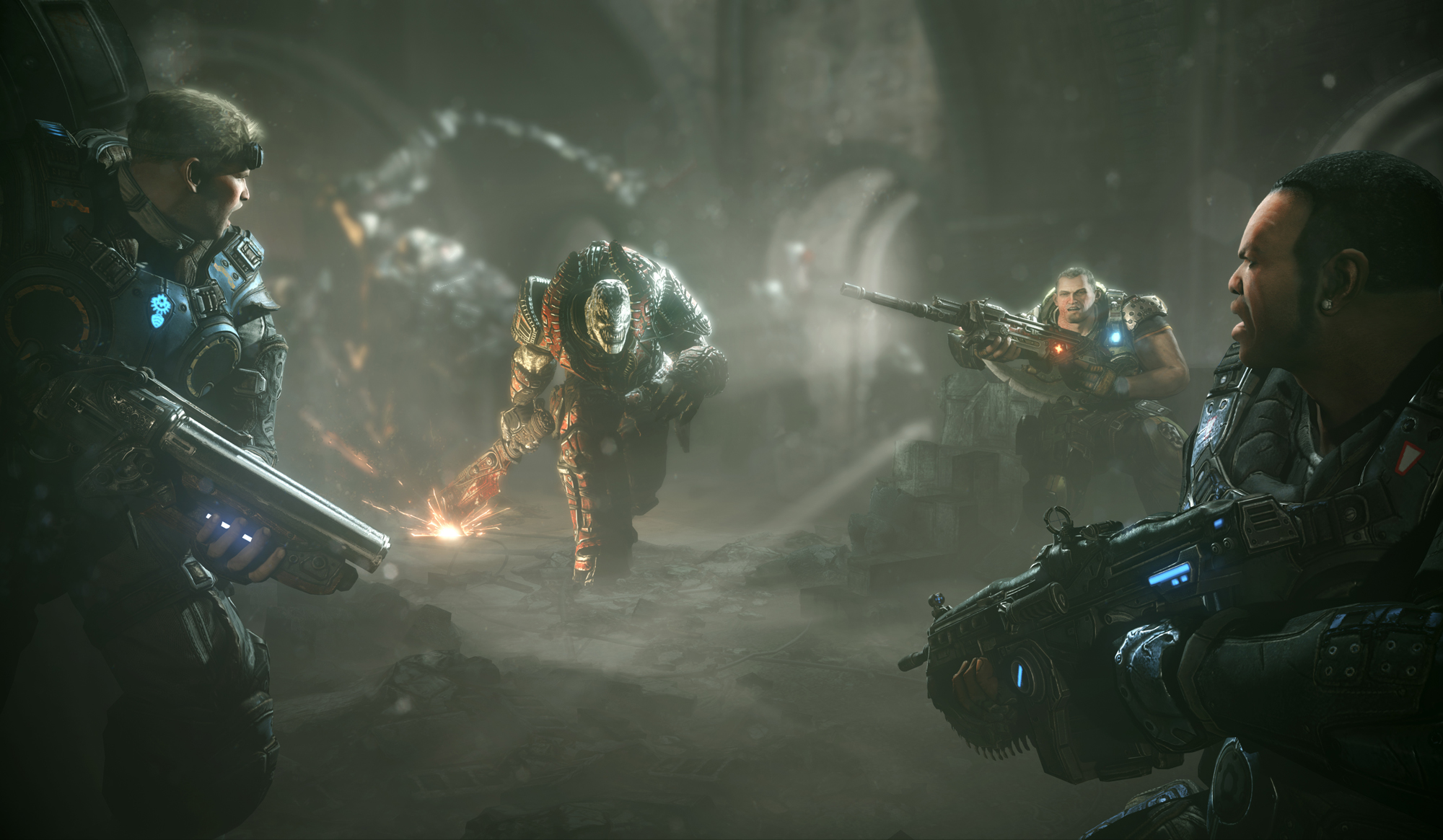 Gears Of War: Judgment Has Two Campaigns - CINEMABLEND
