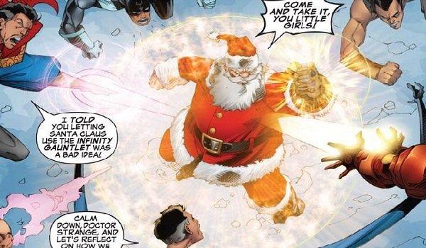 Santa Claus Infinity Gauntlet Marvel