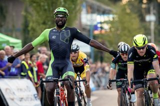 Justin Williams wins the Ladner Criterium in Canada
