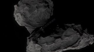 Rosetta's Descent on Comet 67P