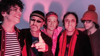 The former Prog Awards host chats with Kavus, Dave and Fabio about their new album and tour...