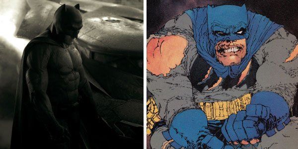 Batman vs Superman v Frank Miller's Batman
