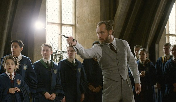 Jude Law as Albus Dumbledore in Crimes of Grindelwald