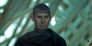 Star Trek Ben Cross stands as Sarek