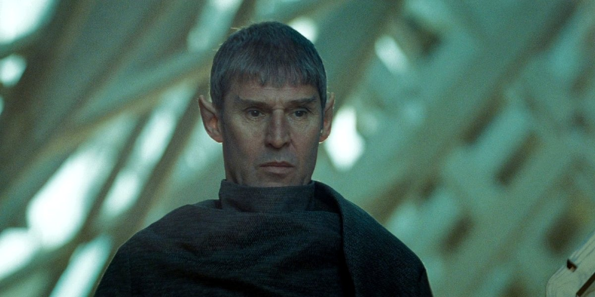 Star Trek Ben Cross stands as Sarek
