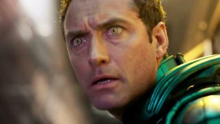 The Jude Law Captain Marvel character, whose identity may have been spoiled