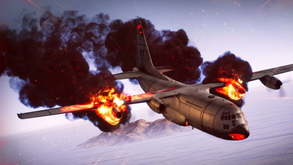 PUBG's planes are now terrifying fiery death traps